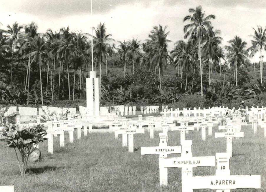 Een begraafplaats in Indonesië