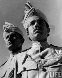Britse Punjab soldaten