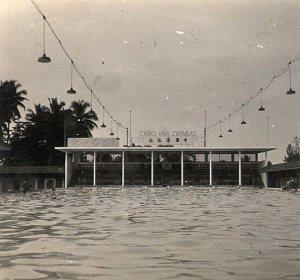 Chinees zembad Chung Hwa, Batavia.