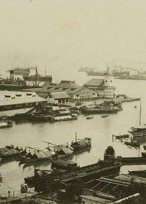 De haven van Soerabaja