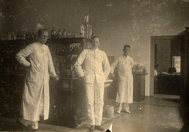 Medewerkers laboratorium