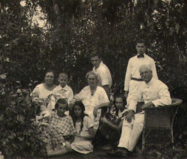 Familie Zieck met bezoek