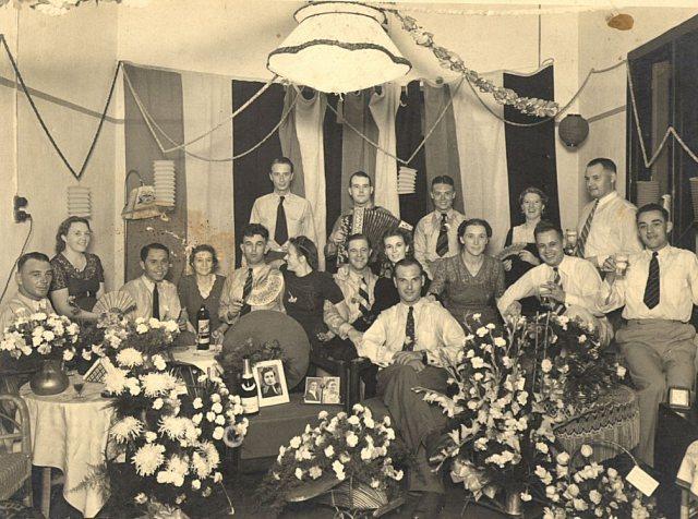 Verlovingsfeest Soerabaja, 1941