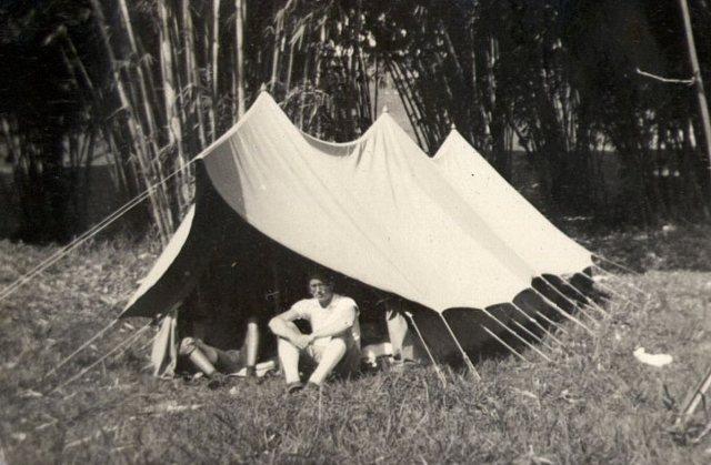 VCJB: Tent met ds. Kater (1939)