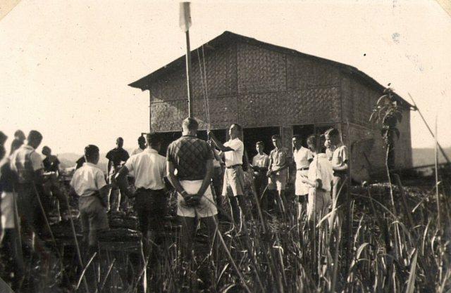 VCJB: vlag hijsen (1939)