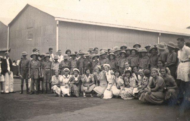 Australische jongens in Tandjoeng Perak (1938)