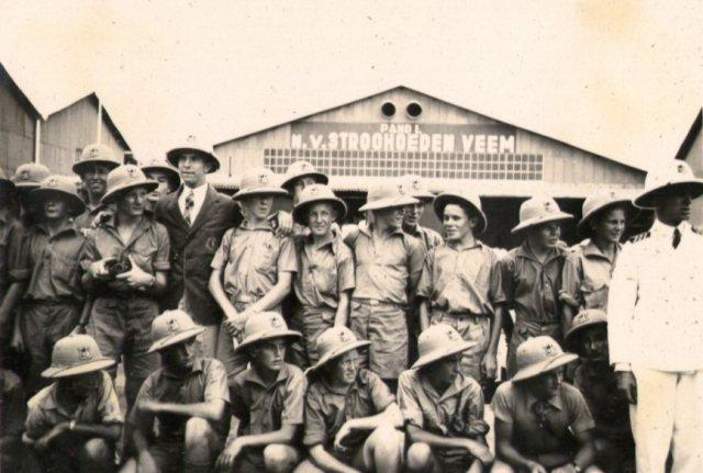 Australische jongens voor Stroohoedenveem, Perak
