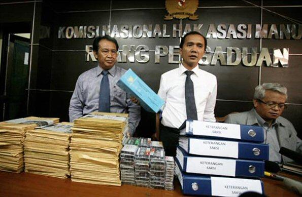 Komnas Ham presenteert onderzoeksrapport over massamoorden in 1965.