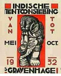 Affiche tentoonstelling 1932