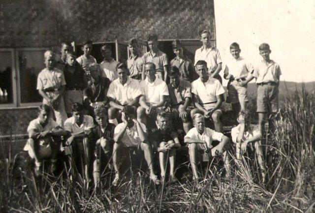 Leden jongenskamp V.C.J.B., 1939.
