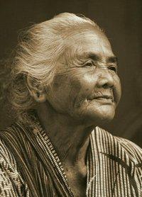 Indonesische weduwe