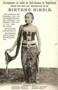 Advertentie Bintang Hindia