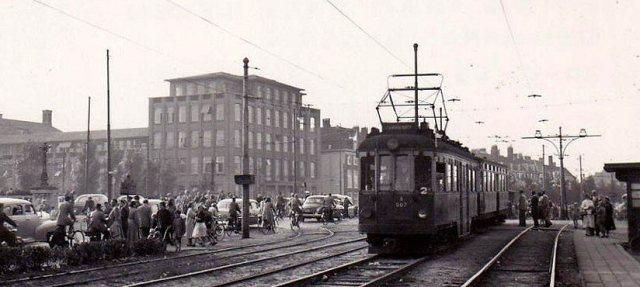 De Blauwe Tram, 1955.