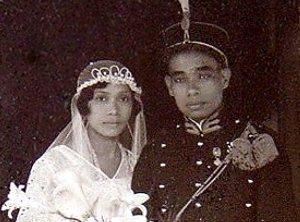 Huwelijk J.A. Pattinama en M. Luhukaij. Malang 1934.