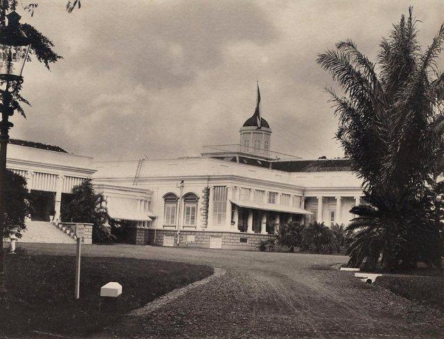 Oprit paleis, 1910.