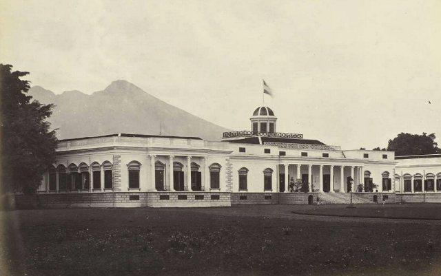Buitenzorg, paleis, 19e eeuw.