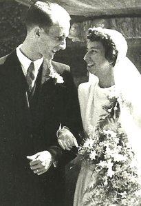 Het echtpaar Jos de Jonge (1924-2012) en Jopie Tax (1922-1990)