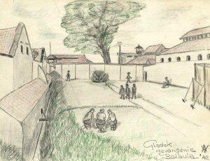 Glodok-gevangenis, eerder in gebruik als krijgsgevangenkamp