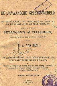 H.A. van Hien,  De Javaansche geestenwereld.