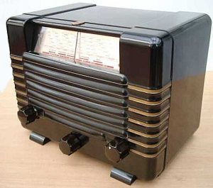 Philips radio, type A42U (1940)