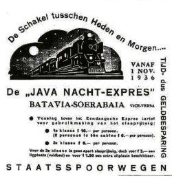 De Java nacht-expres
