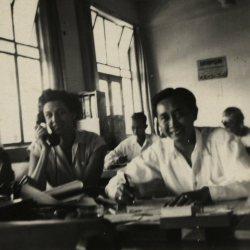 Ambtenaren GEBEO Bandoeng, 1940.