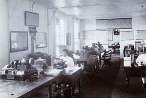 Radiostation Malabar, de werkplaats van de schrijver tijdens het eerste oorlogsjaar.