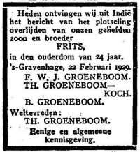 Het Vaderland, 23 februari 1929