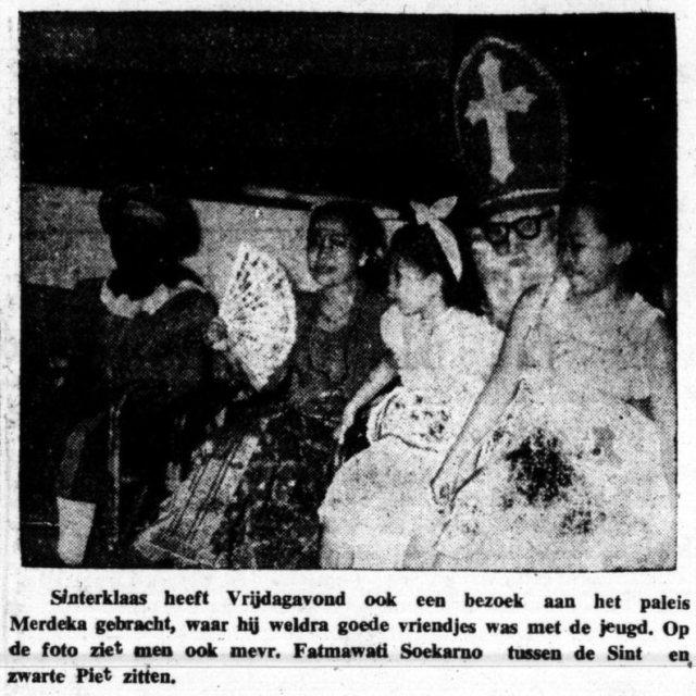 Sint in Djakarta, 1954.