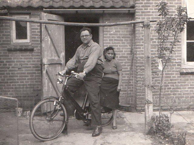 Adriaan van de Werffe en Leentje Merckx