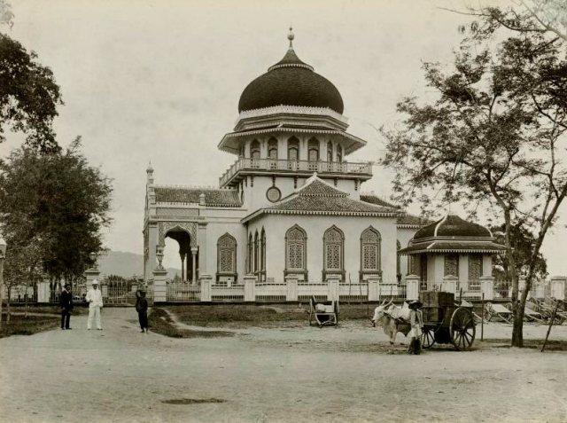 Grote Moskee, ca. 1895.