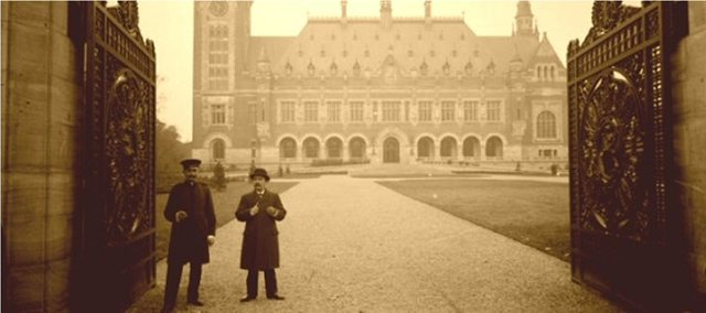 Internationaal Gerechtshof (Vredespaleis), Den Haag, 1903