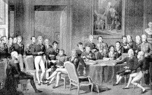 Congres van Wenen, 1814-1815