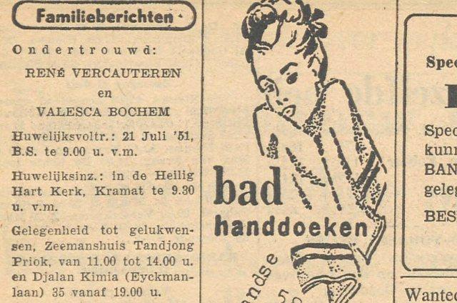 Java Bode, 20 juli 1951