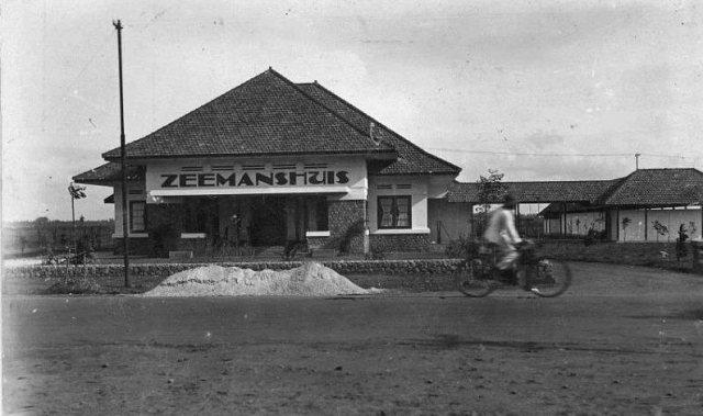 Zeemanshuis, Tandjoeng Priok, ca. 1930