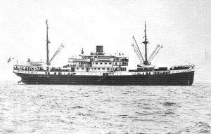 m.s. Janssens, 1935.