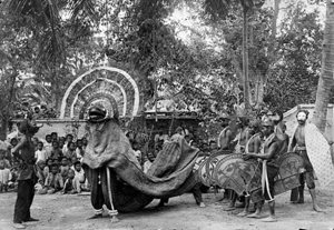 Barongan in Ponogoro