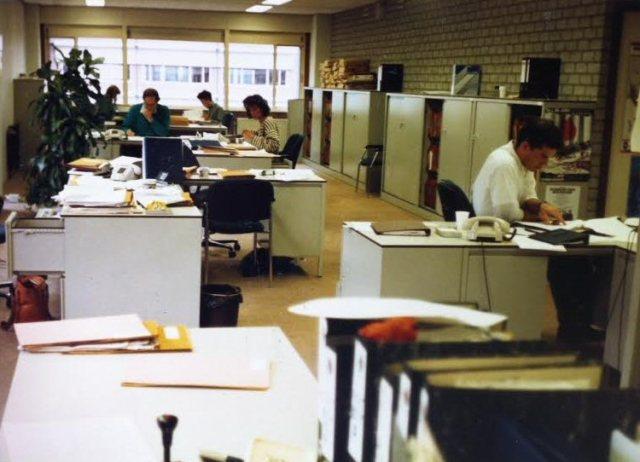 Bureau Wiv, Diemen, eind jaren ´80.