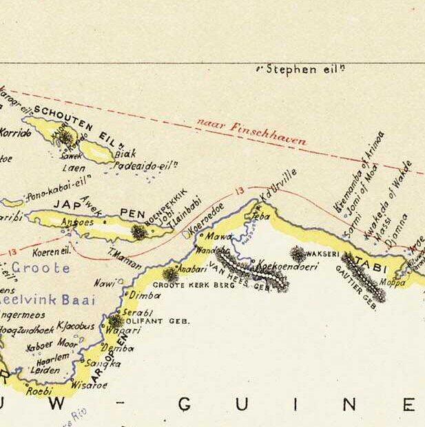 Stephen Eilanden, kaart 1893