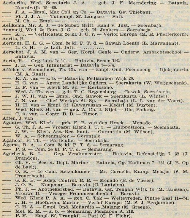 Kleian´s Nieuw Adresboek, 1906,