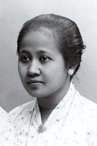 Raden Ajoe Kartini (1879-1904), niet in het BWN.