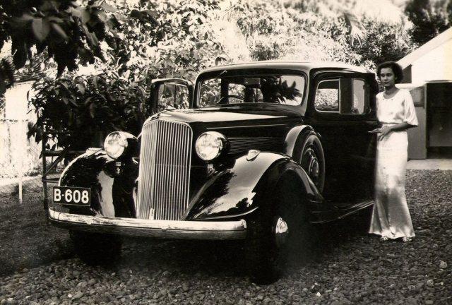 Auto en dochter, 1936