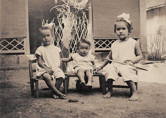 Kinderen Persijn, ca. 1917