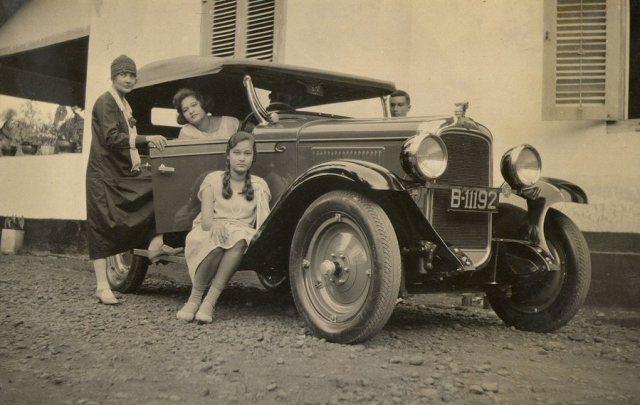Andere auto, zelfde kenteken, juli 1929