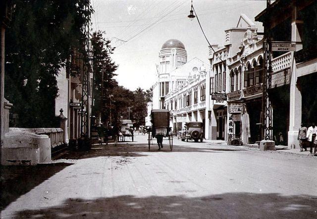 Straat in Medan