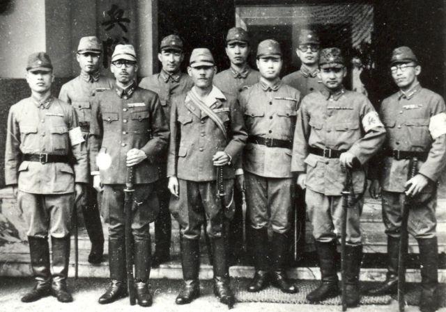 Kenpeitai officieren