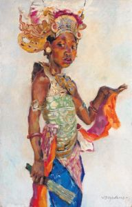 Willem Dooyewaard (1892-1980): Balinese danseres