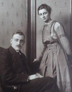 Het echtpaar Roelfsema-Ellerbroek