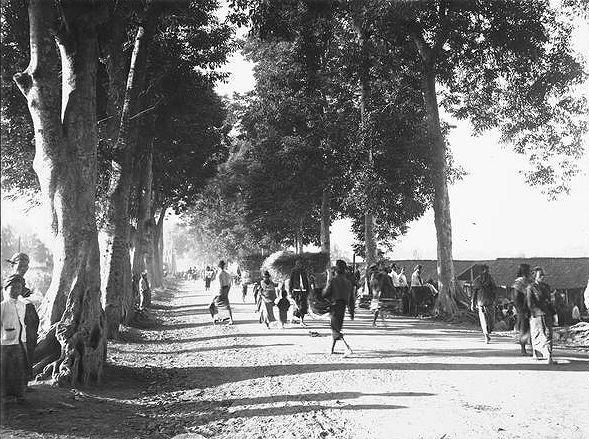 Moentilan, begin 20e eeuw