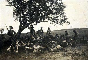 KNIL-soldaten in Koetaradja